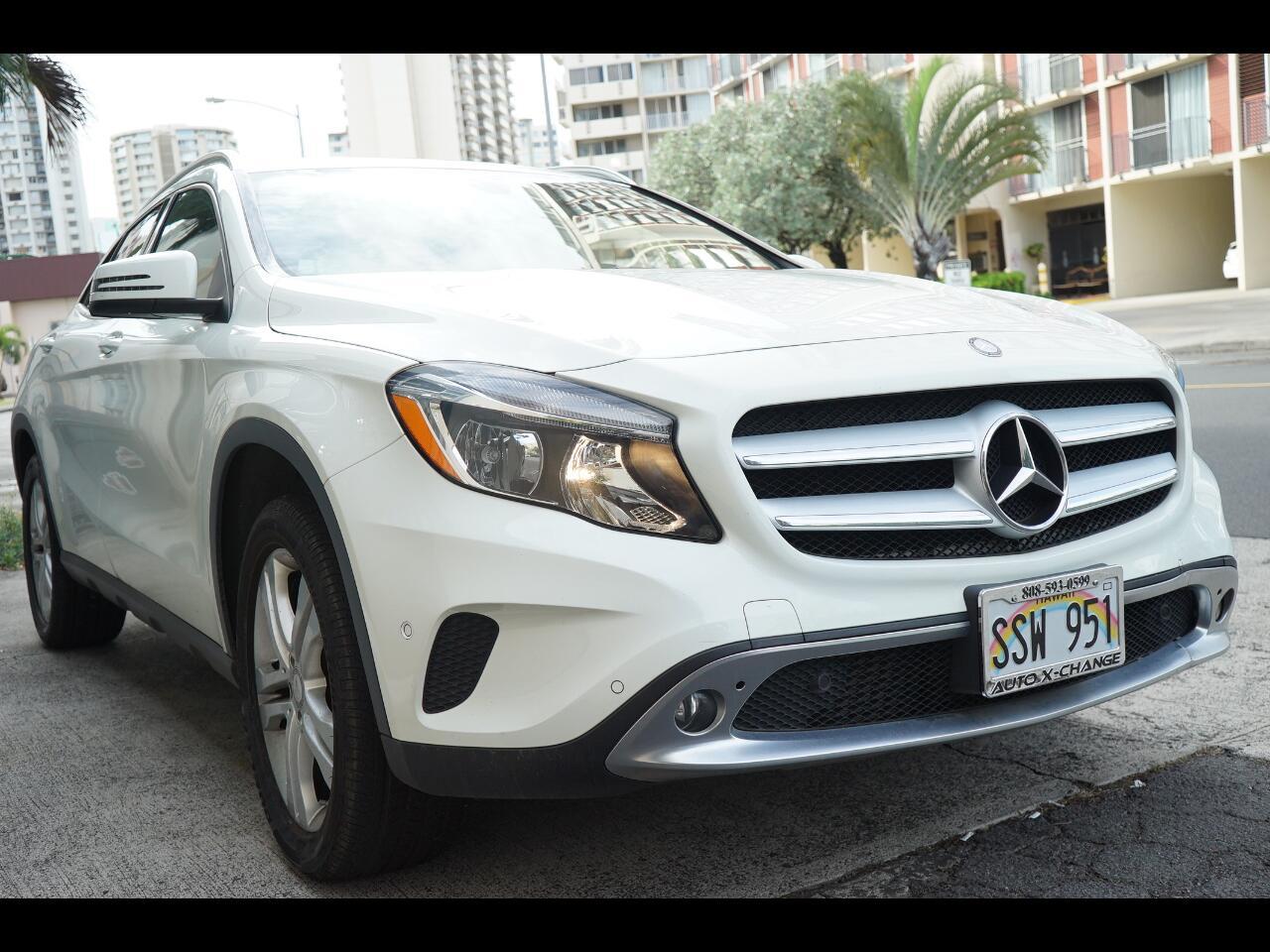 2016 Mercedes-Benz GLA FWD 4dr GLA 250