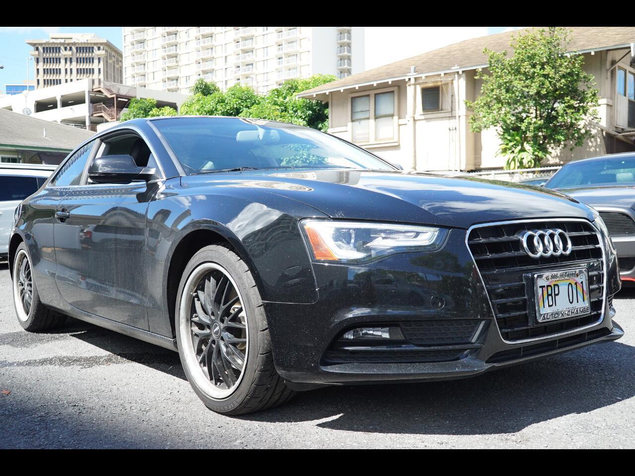 2013 Audi A5 2dr Cpe Auto quattro 2.0T Premium Plus