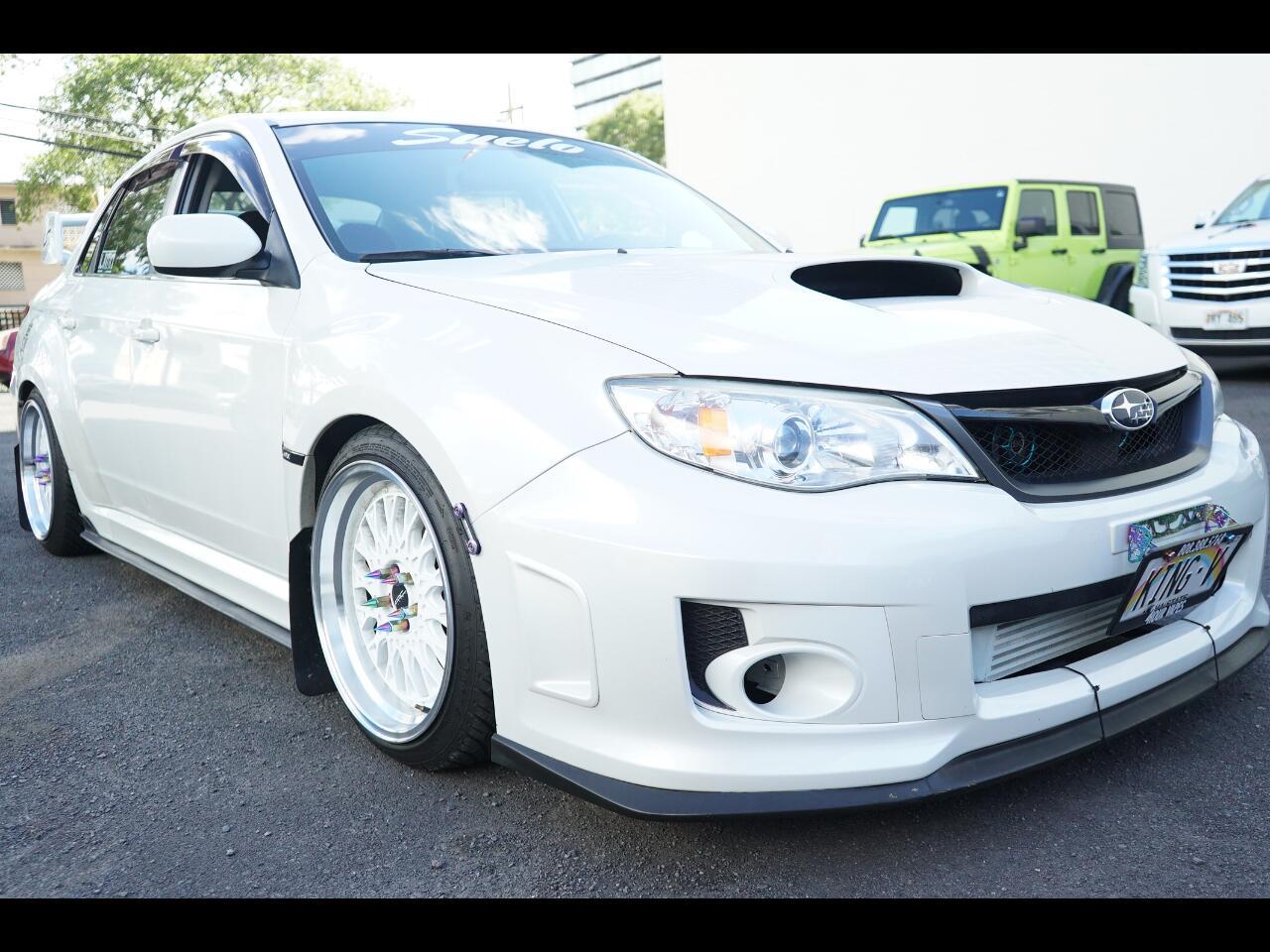 2012 Subaru Impreza Sedan WRX 4dr Man WRX