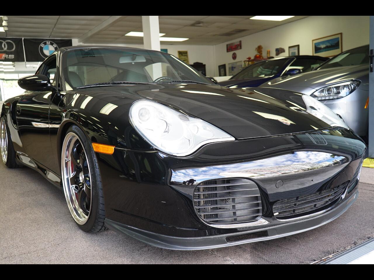 2001 Porsche 911 Carrera 2dr Carrera Turbo 6-Spd Manual