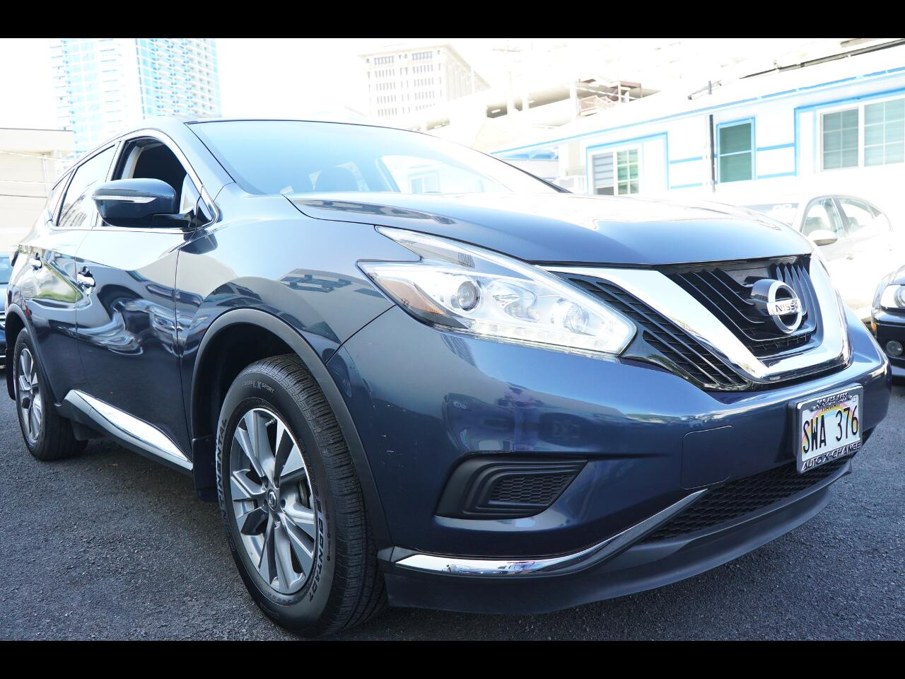 2015 Nissan Murano FWD 4dr S
