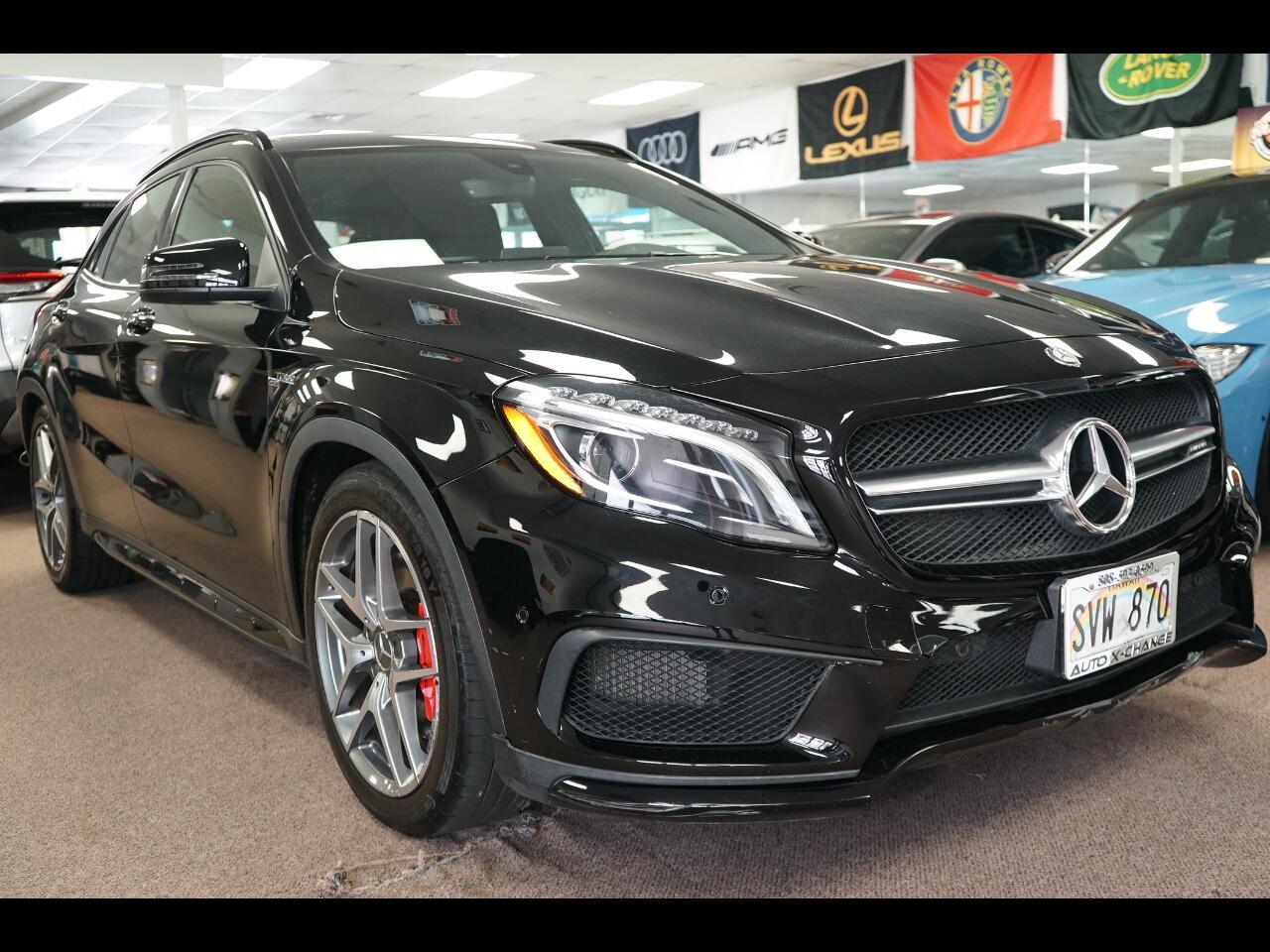 2016 Mercedes-Benz GLA 4MATIC 4dr AMG GLA 45