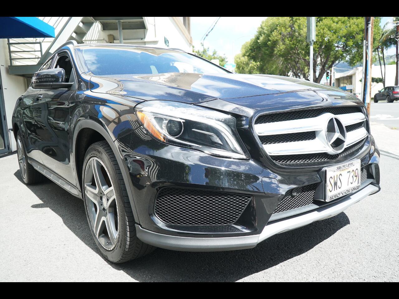 2016 Mercedes-Benz GLA 4MATIC 4dr GLA 250