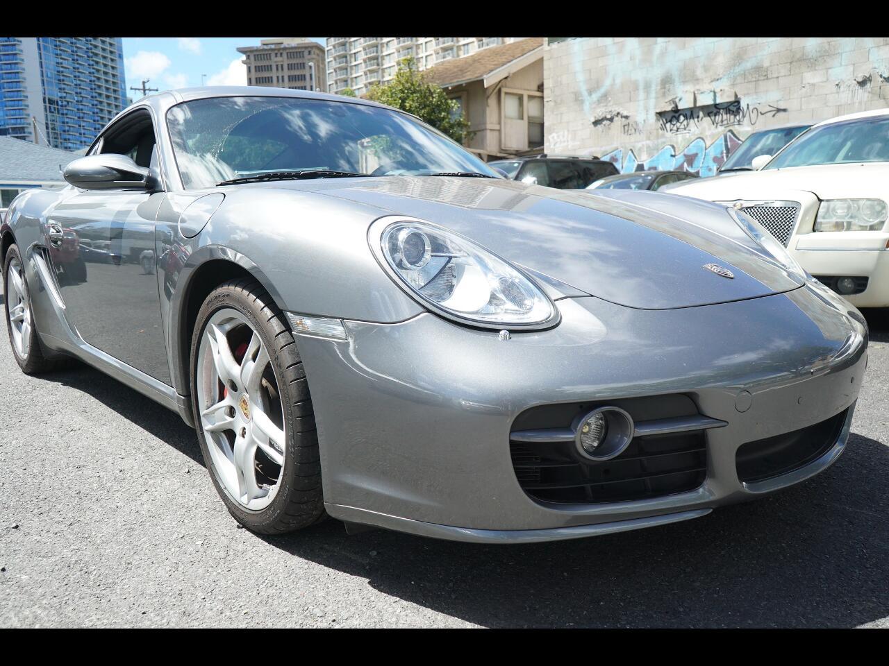 2007 Porsche Cayman 2dr Cpe S