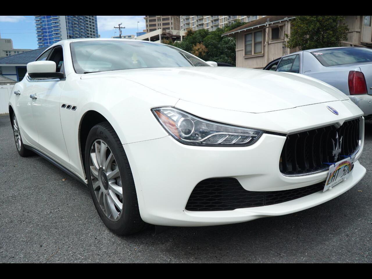 2014 Maserati Ghibli 4dr Sdn