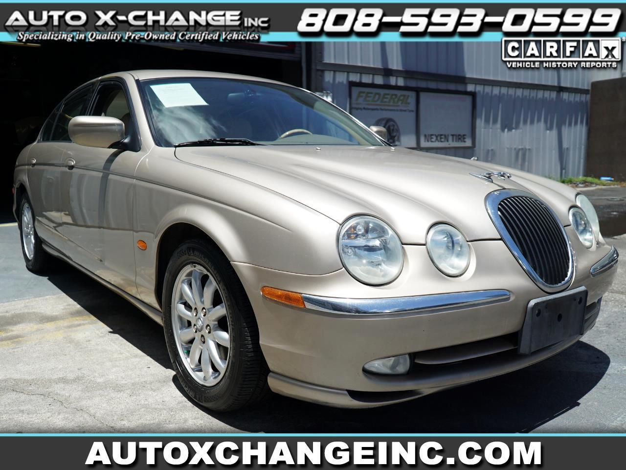 Jaguar S-Type 4dr Sdn V8 2002