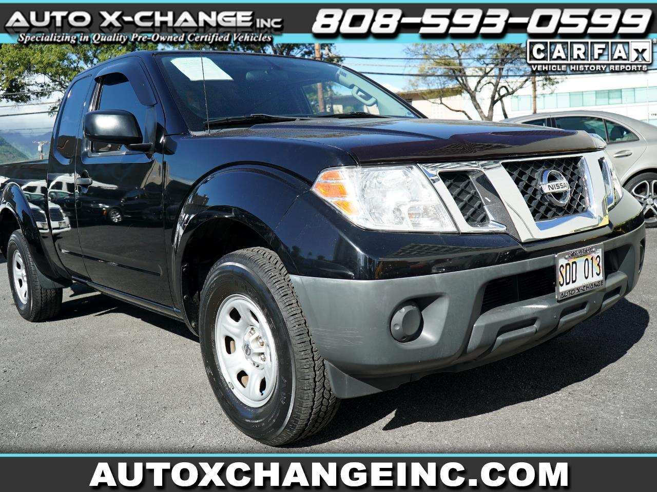 Nissan Frontier 2WD King Cab I4 Manual S 2014