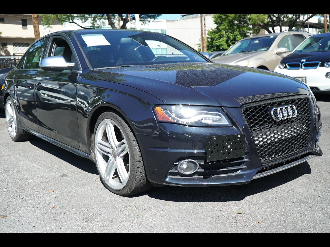 2012 Audi S4 4dr Sdn S Tronic Premium Plus