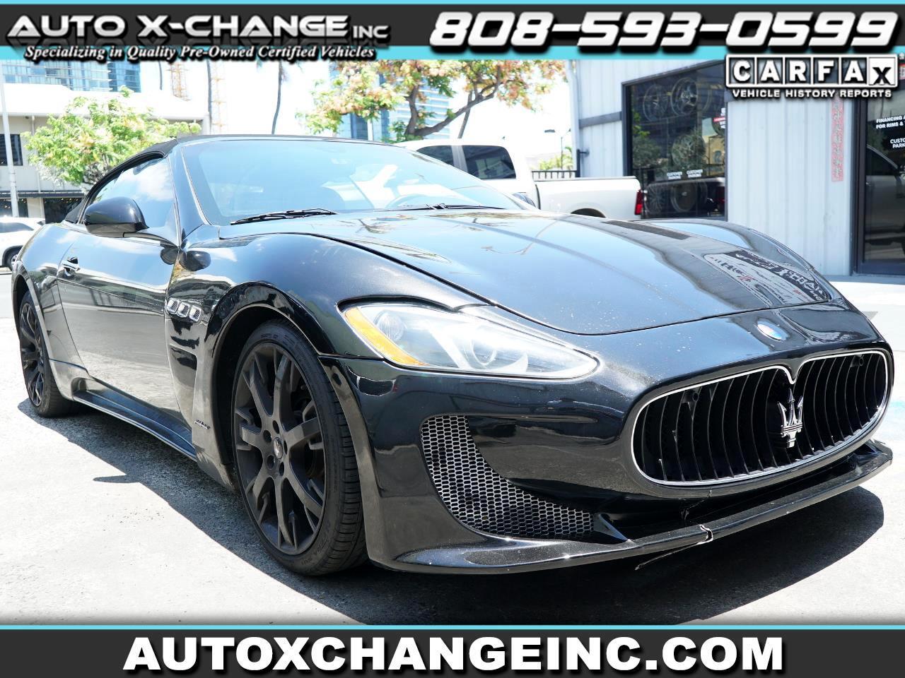 Maserati GranTurismo Convertible 2dr Conv GranTurismo 2013