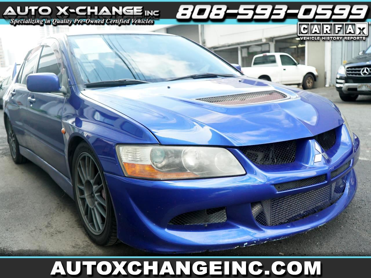 Mitsubishi Lancer 4dr Sdn Evolution VIII Manual 2005
