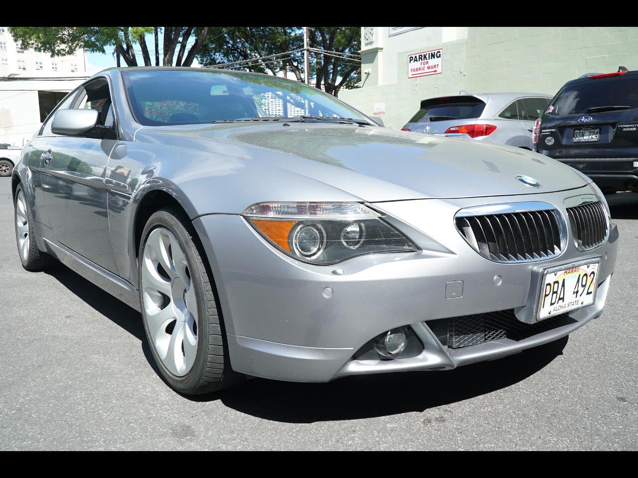2005 BMW 6 Series 645Ci 2dr Cpe