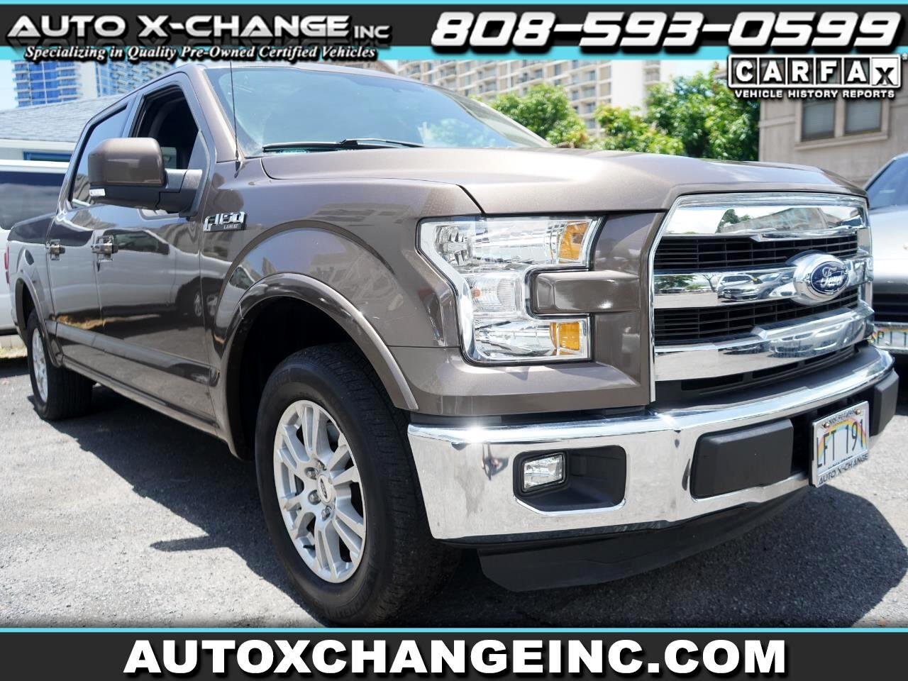"Ford F-150 2WD SuperCrew 157"" Lariat 2016"