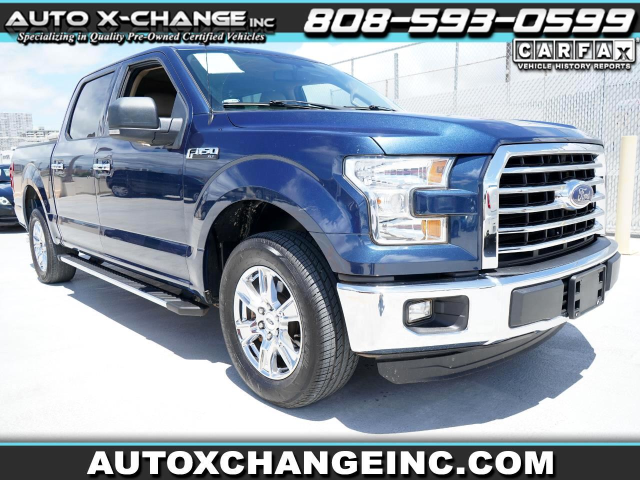 "Ford F-150 SuperCrew 139"" XLT 2016"