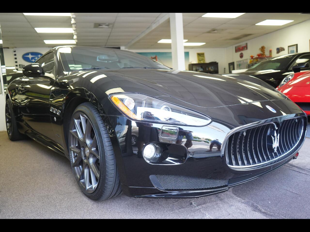 Maserati GranTurismo 2dr Cpe GranTurismo S 2012