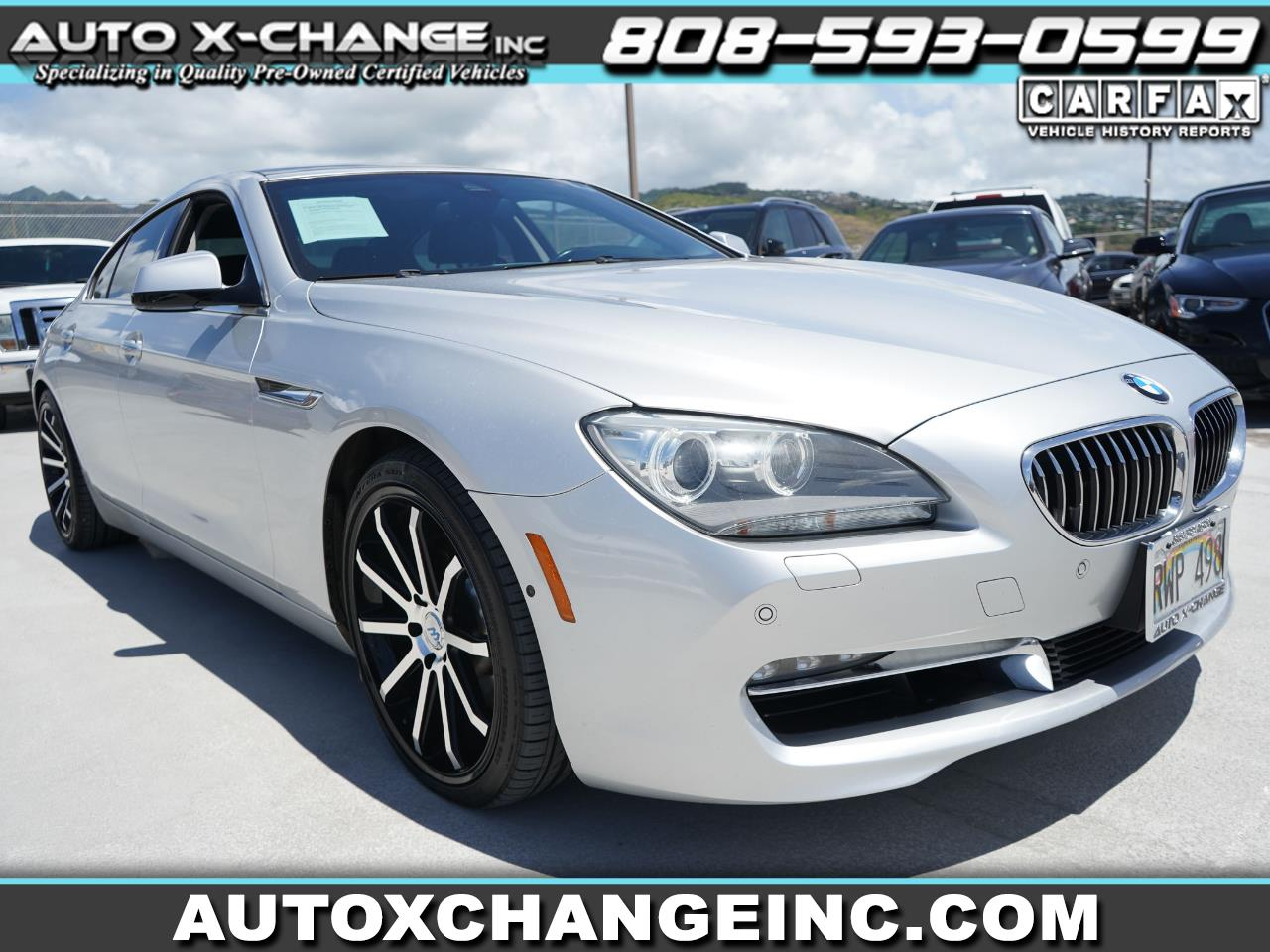 BMW 6 Series 4dr Sdn 640i Gran Coupe 2013