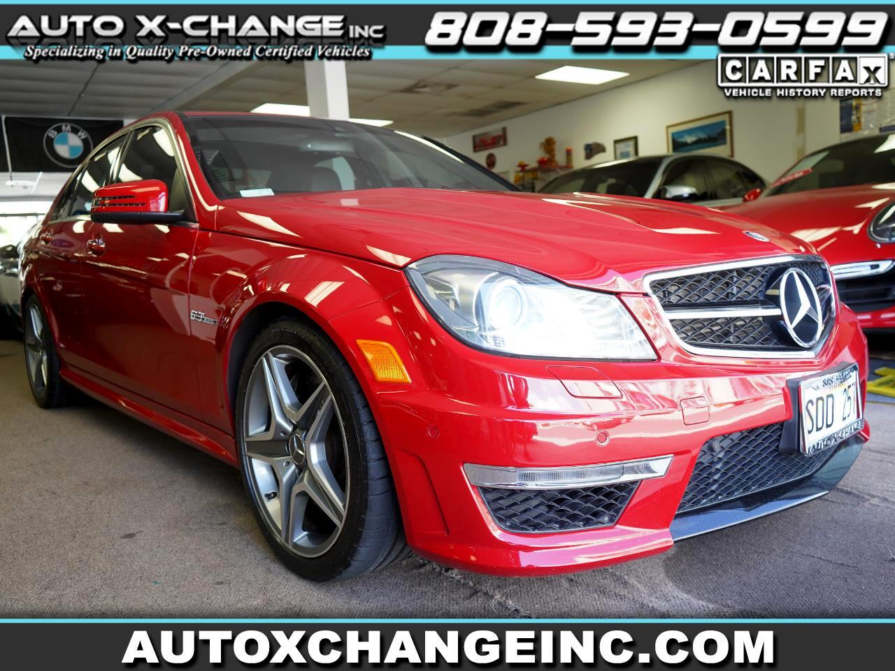 Mercedes-Benz C-Class 4dr Sdn C 63 AMG RWD 2013