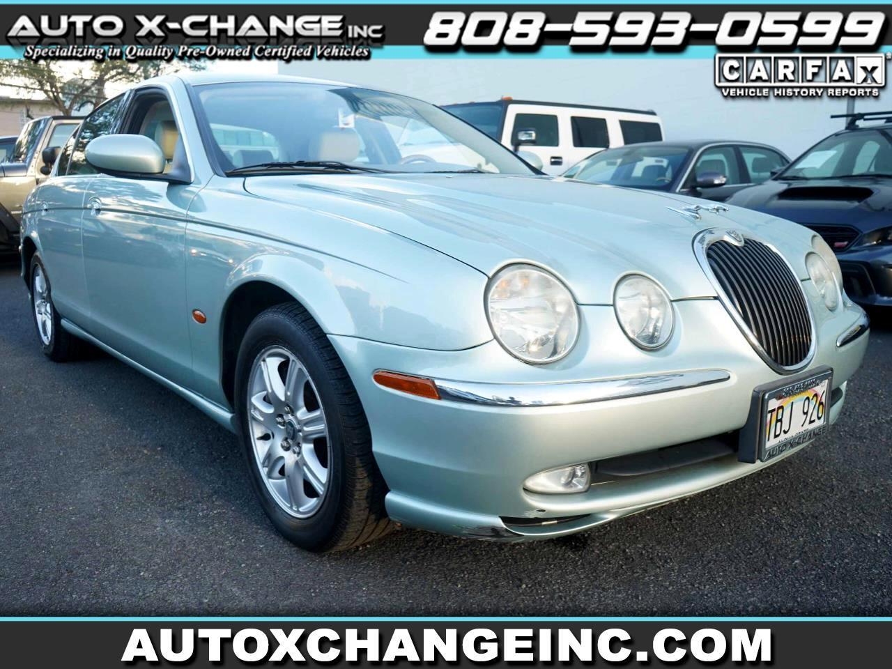 Jaguar S-Type 4dr Sdn V6 2003