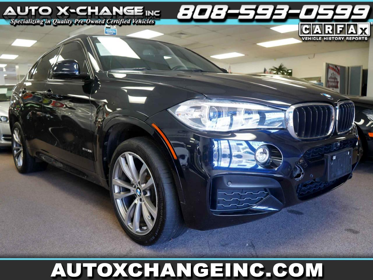 BMW X6 xDrive35i Sports Activity Coupe 2017