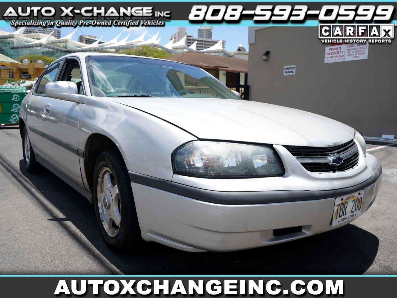 Chevrolet Impala 4dr Sdn 2004