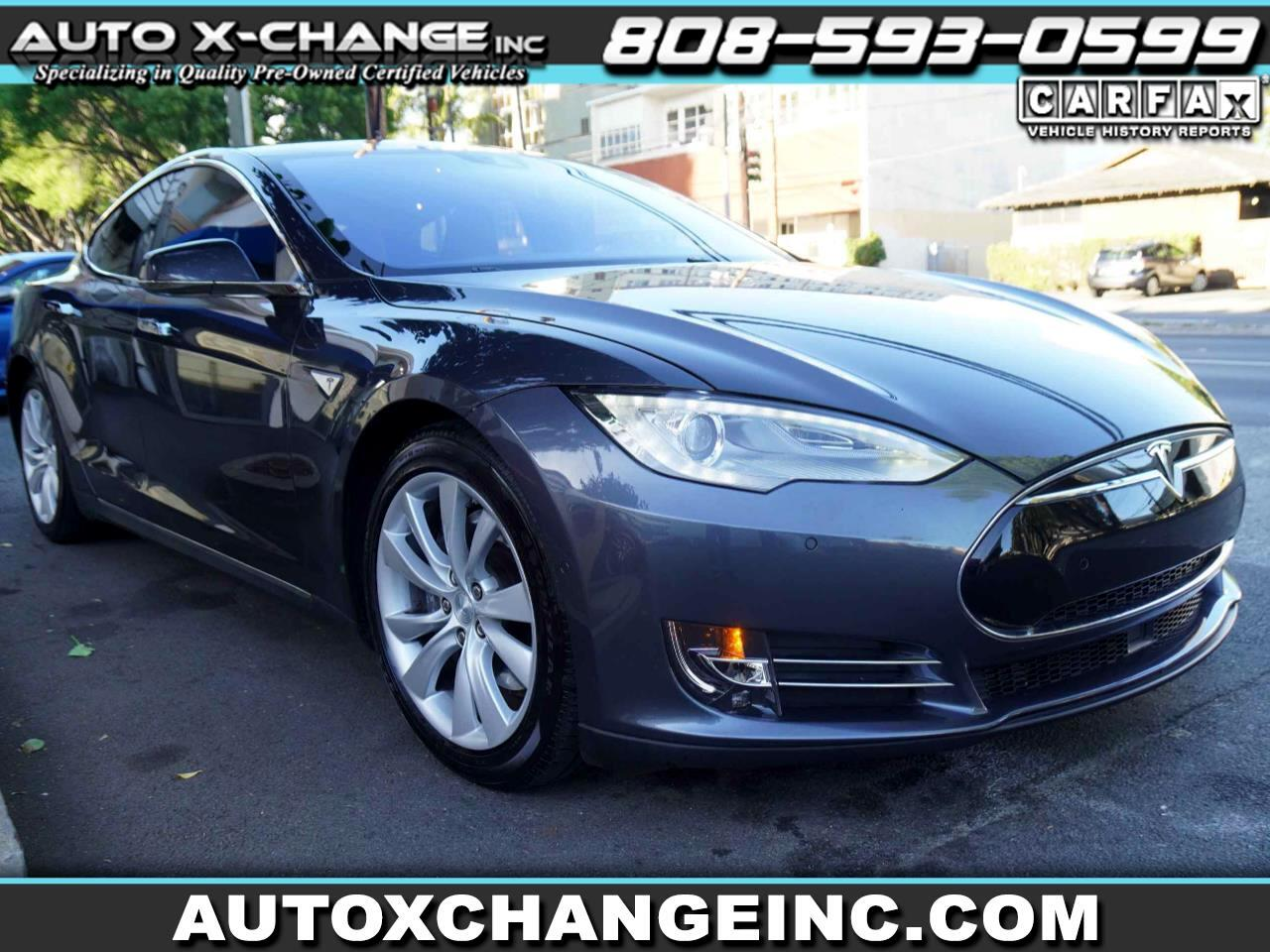 Tesla Model S 4dr Sdn RWD 85 kWh Battery 2015
