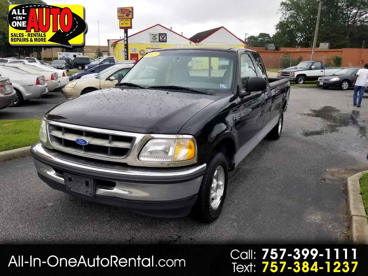 """Ford F-150 Supercab 139"""" 1997"""