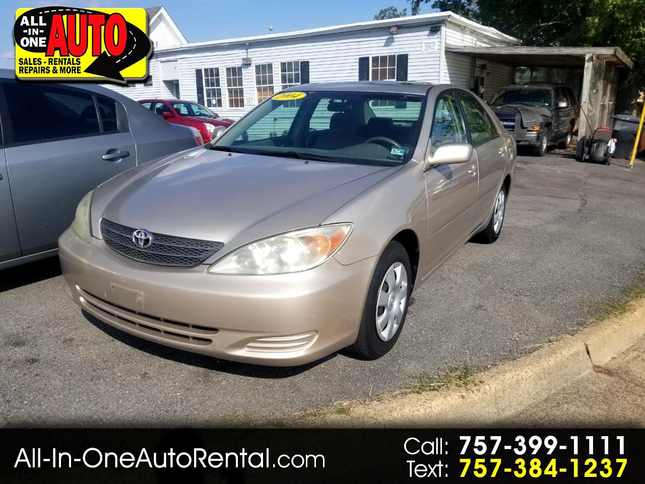 2004 Toyota Camry 4dr Sdn LE Auto (Natl)