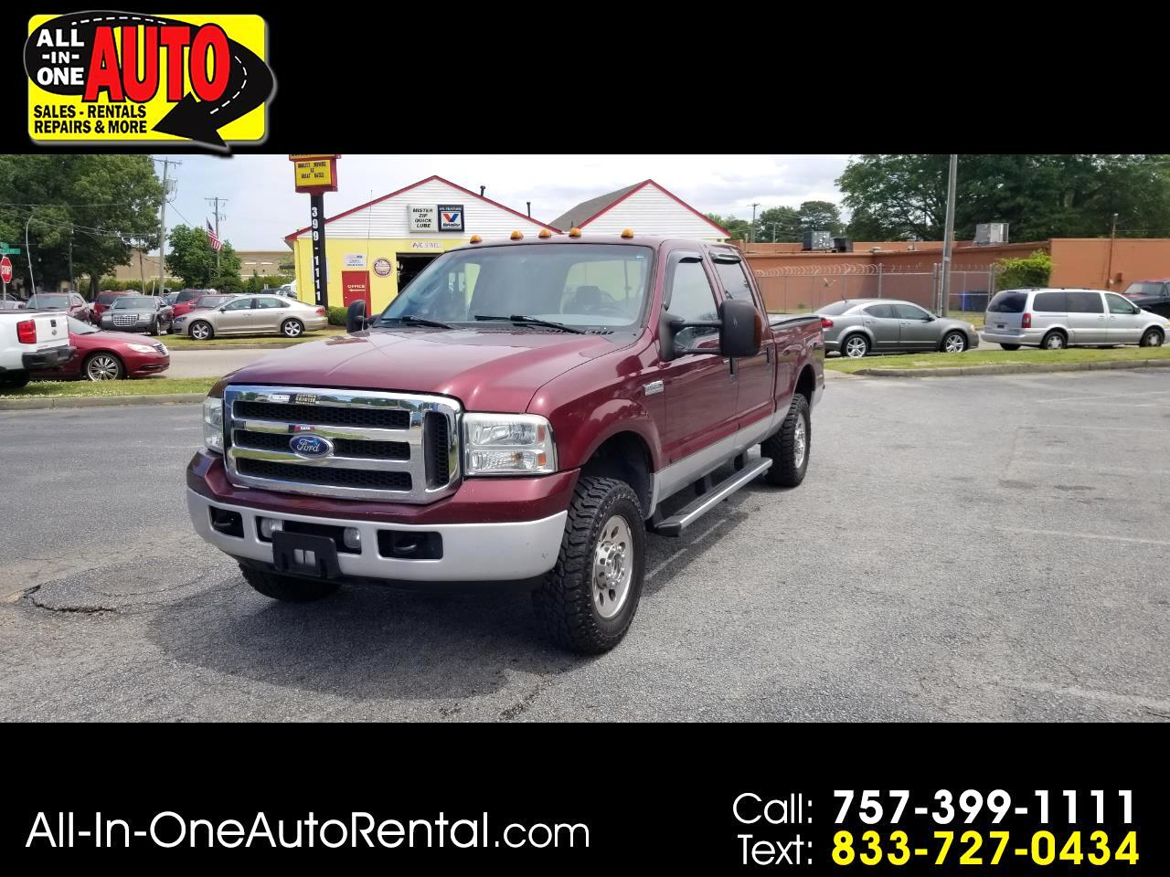 "Ford Super Duty F-250 Crew Cab 156"" XLT 4WD 2005"