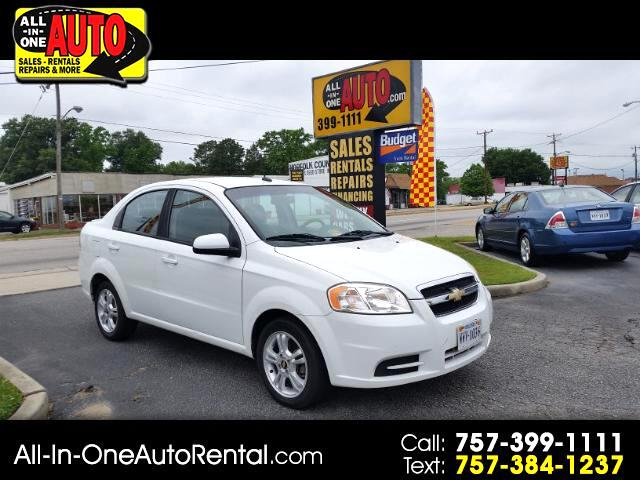 buy here pay here 2011 chevrolet aveo ls 4 door for sale in norfolk va 23707 all in one auto. Black Bedroom Furniture Sets. Home Design Ideas