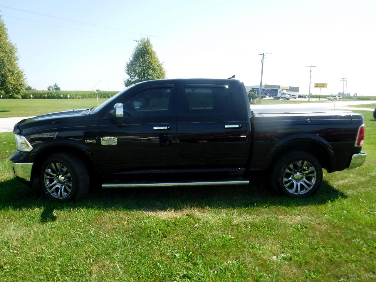 "2013 RAM 1500 4WD Crew Cab 140.5"" Laramie Longhorn Edition"