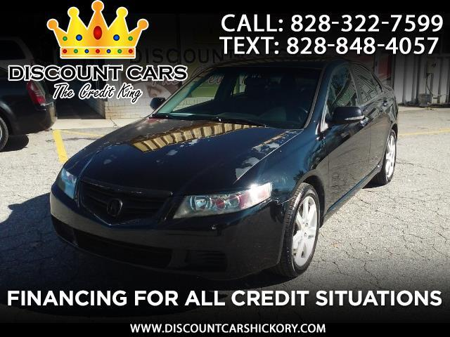 2005 Acura TSX 5-speed AT with Navigation System