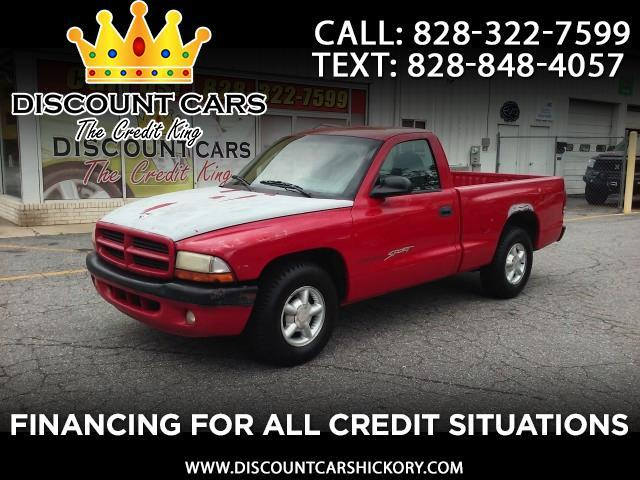 1998 Dodge Dakota Reg. Cab 6-ft. Bed 2WD