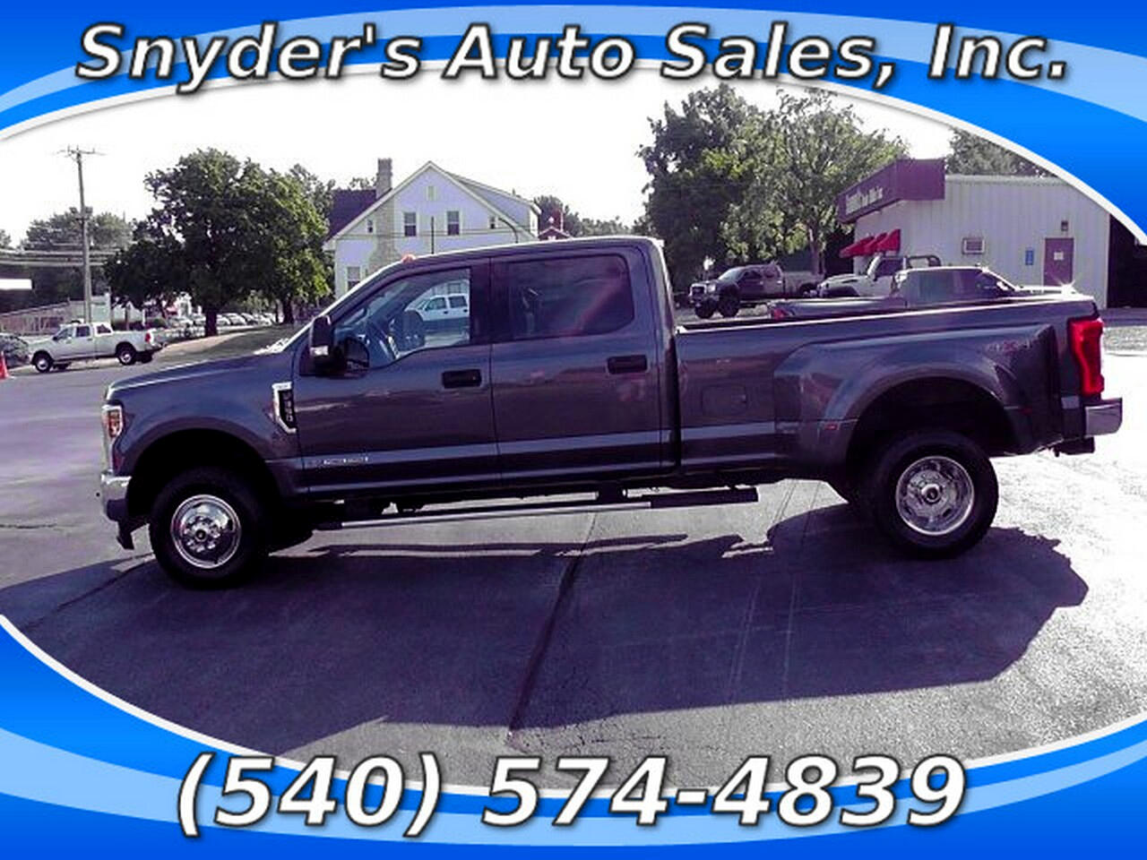 2019 Ford F-350 SD XLT 4WD DRW