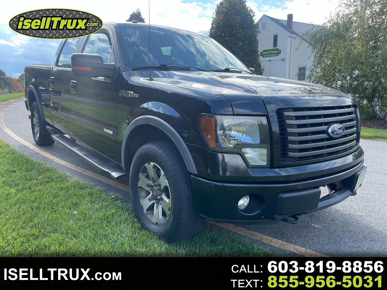"""Ford F-150 4WD SuperCrew 145"""" FX4 2012"""