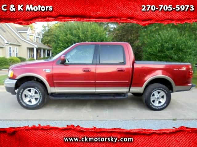 2002 Ford F-150 Lariat SuperCrew Short Bed 4WD