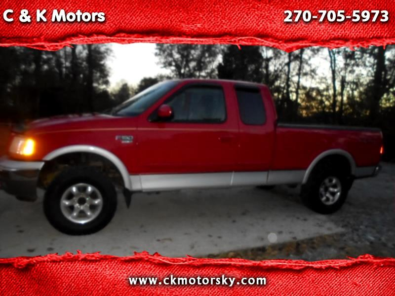 2000 Ford F-150 Lariat SuperCab Short Bed 4WD