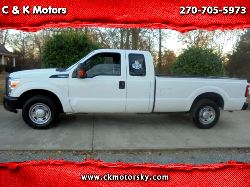 2012 Ford F-250 SD XLT SuperCab Long Bed 2WD
