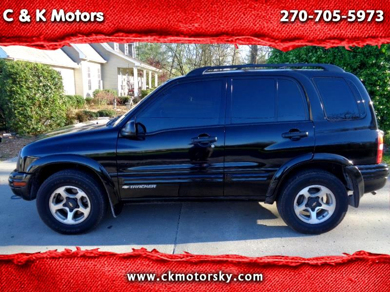2002 Chevrolet Tracker ZR2 4-Door Hardtop 4WD