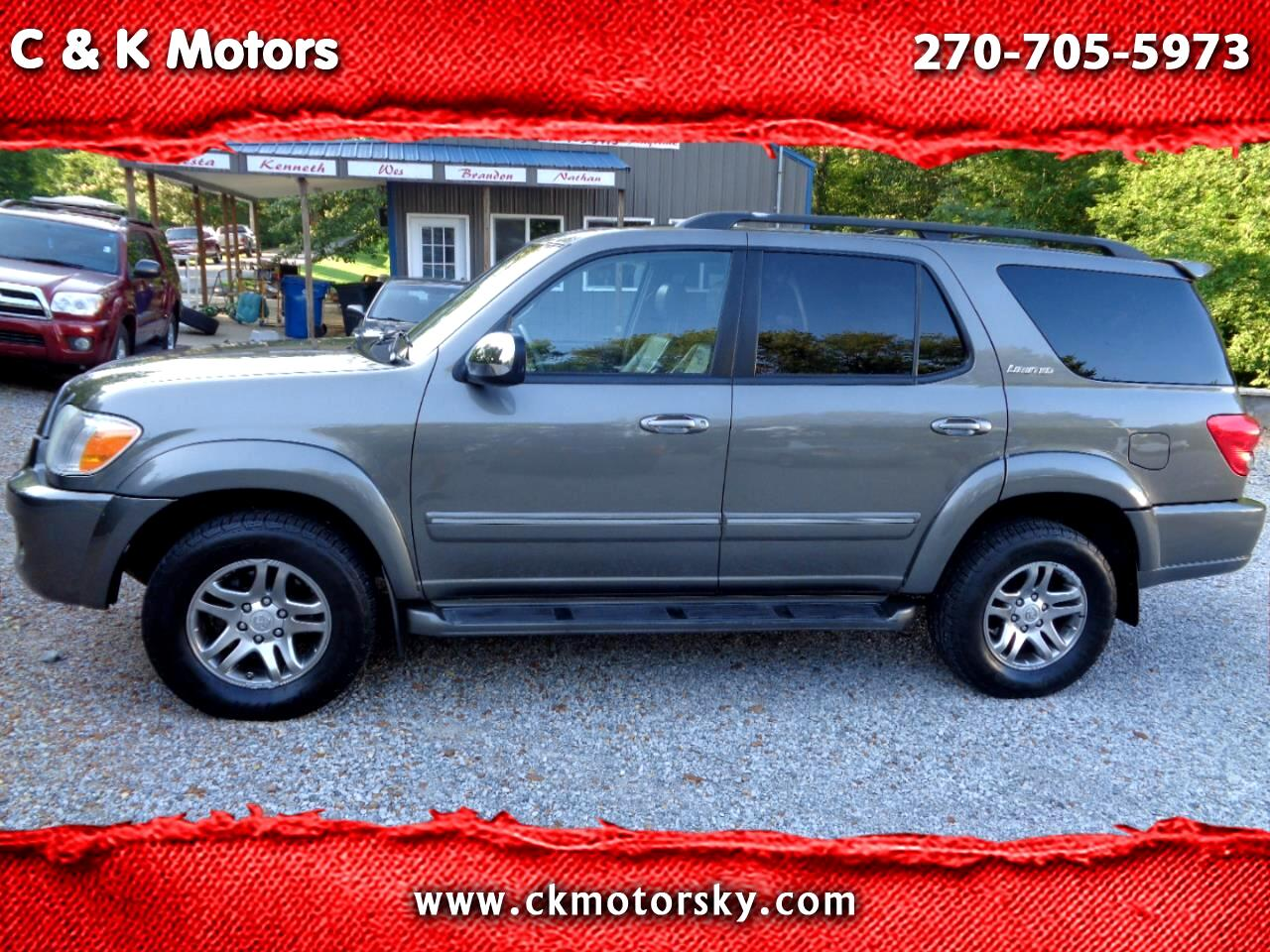 Toyota Sequoia 4WD 4dr Limited (Natl) 2007