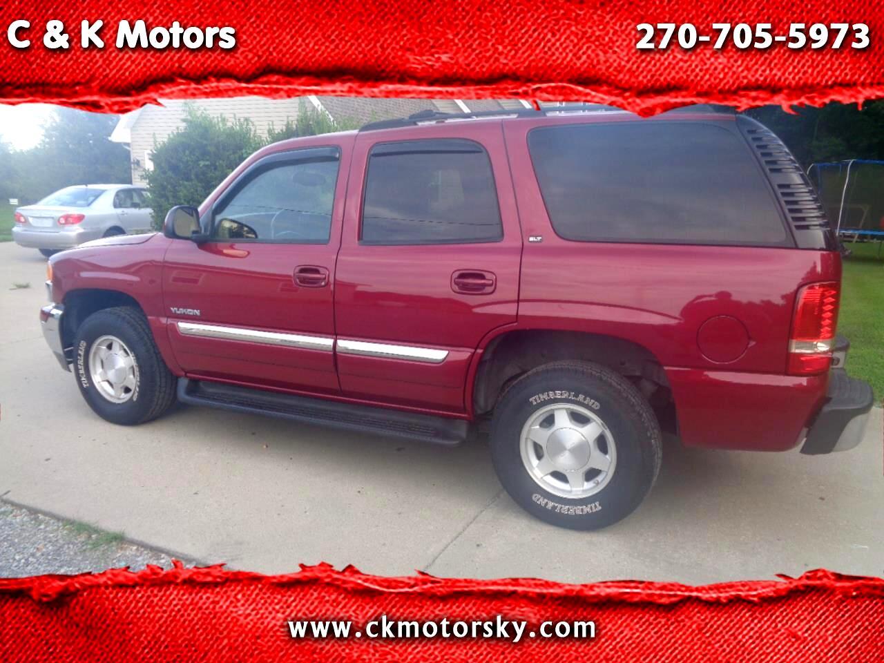 GMC Yukon 4dr 1500 4WD SLT 2004