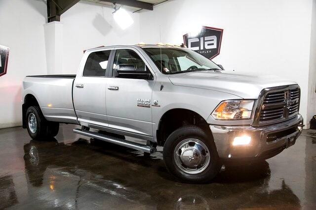 2017 RAM 3500 Big Horn 4x4 Crew Cab 8' Box