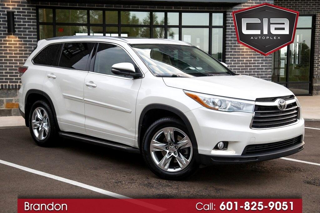 Toyota Highlander Limited 2014
