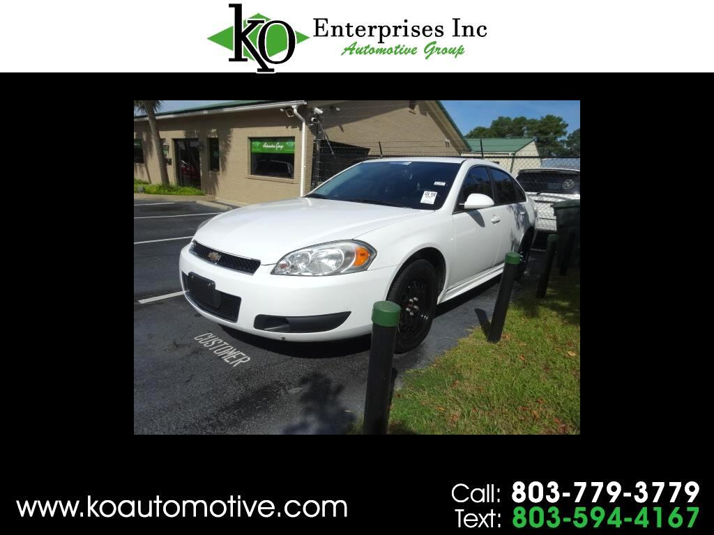 2014 Chevrolet Impala Limited Police 4dr Sdn Police