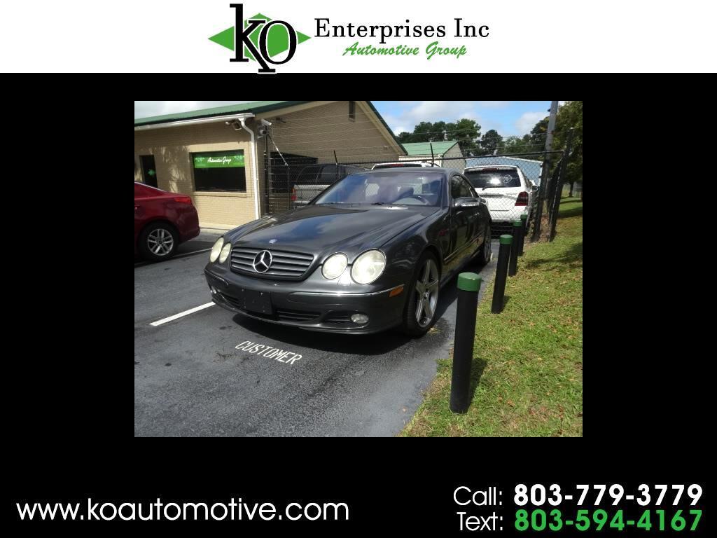 2003 Mercedes-Benz CL-Class 2dr Cpe 5.0L