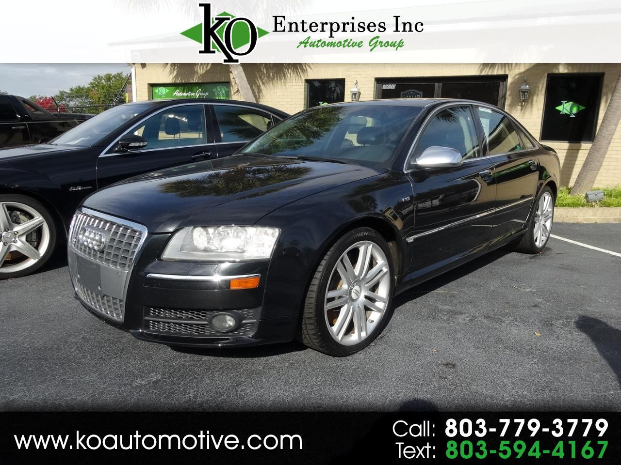 2007 Audi S8 4dr Sdn