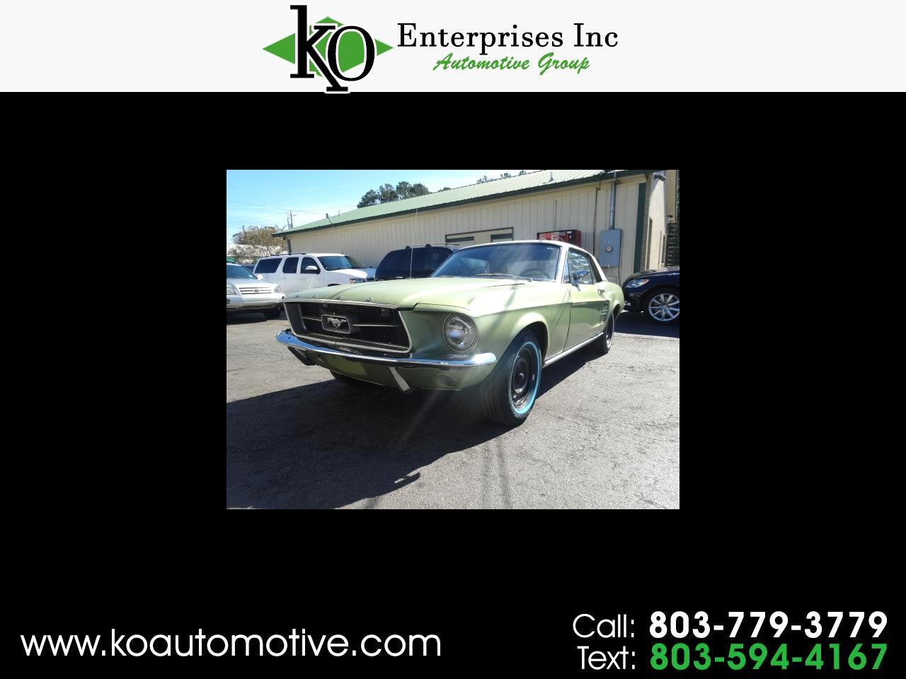 1967 Ford Mustang 2dr Cpe
