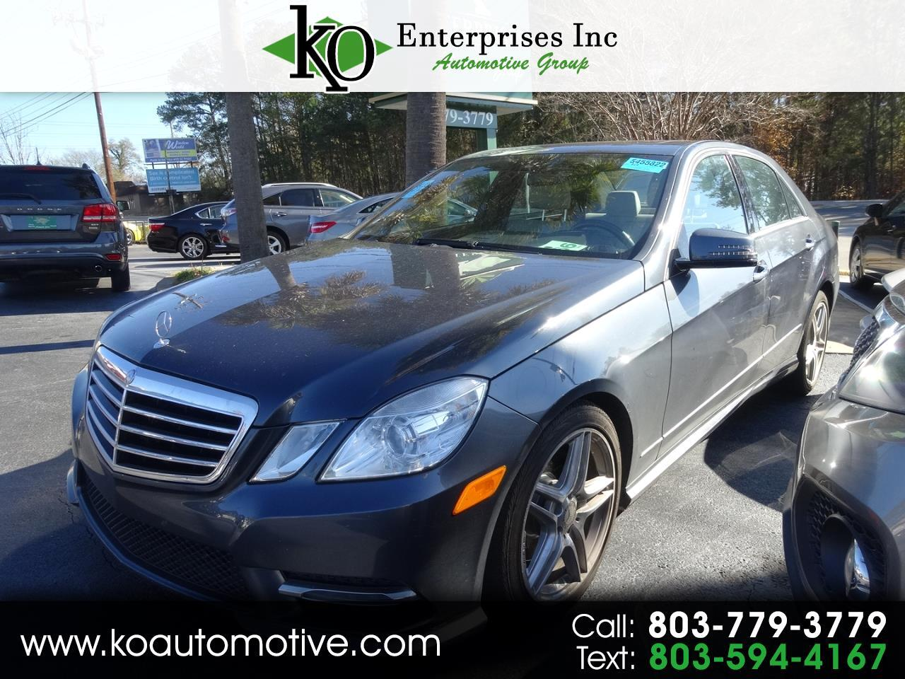 2013 Mercedes-Benz E-Class 4dr Sdn E 350 Sport RWD *Ltd Avail*