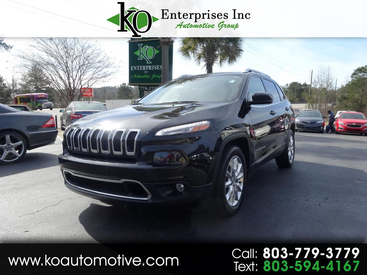 2016 Jeep Cherokee FWD 4dr Limited