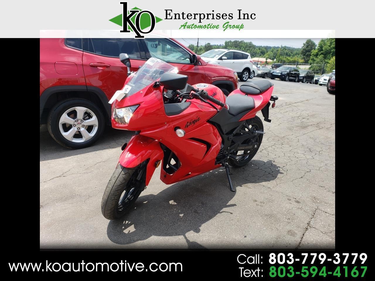 2010 Kawasaki EX250-J