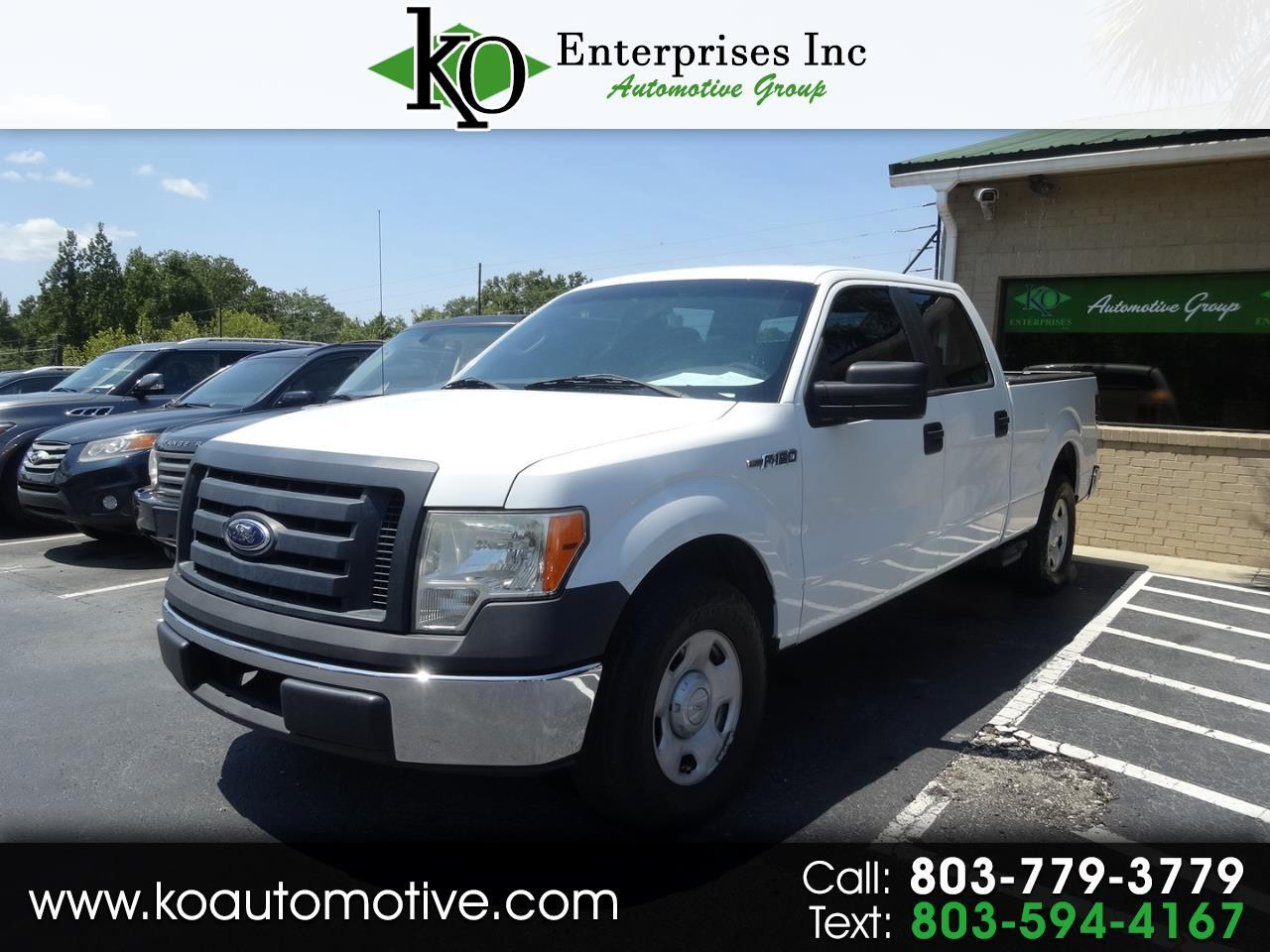 "2009 Ford F-150 2WD SuperCrew 157"" XL"