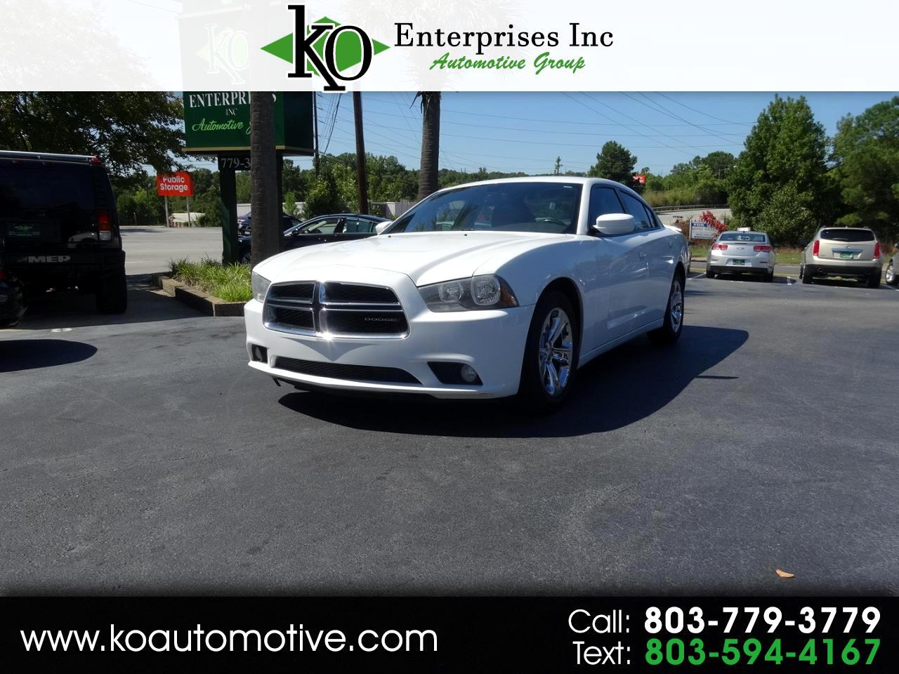 2012 Dodge Charger 4dr Sdn SXT RWD